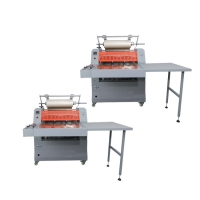 Heavy Dust 720D Roll Laminating Machines For Book 3in Mold Core Manufactures