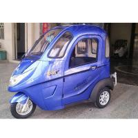Handle Steering 2 Passengers Mini Electric Tricycle Manufactures