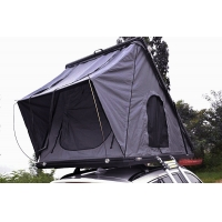 Family Camping Aluminum Hard Shell Roof Top Tent Safe Pop Up Tent 125cm Manufactures