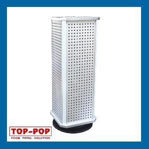 Pegboard Floor Standing Display (POP-RE4L) Manufactures