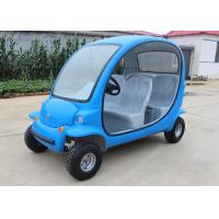 Buy cheap 4 Passengers Electric Car Golf Cart , 4 Wheels Tourist Small Electric Cars from wholesalers