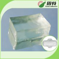 Buy cheap Environment Light And Transparent Block Hot Melt Glue For Adult & Baby Diaper from wholesalers