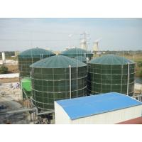 Safe Glass Lined Steel Tanks UASB Reactor Three Phase Separator 40 M3 To 9000 M3 Manufactures