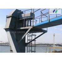 Buy cheap High Lift Height Belt Bucket Elevator Adopts Heavy Hammer Tensioning Device from wholesalers