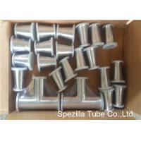 TP316L Sanitary Valves And Fittings 1/2'' - 4'' Stainless Steel Reducing Tee Cross Ends Manufactures