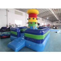 Outdoor Commercial Inflatable Bounce House Rock Color Inflatable Rock Climbing Wall Game Manufactures