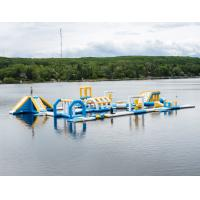 Buy cheap Canada 100 Capacity Inflatable Commercial Floating Water Park Games With TUV from wholesalers