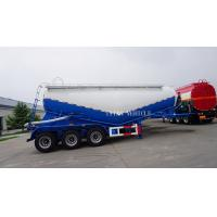 China TITAN VEHICLE 40 ton Dry Bulk Cement Powder Tanker Semi Trailer With Engine for sale on sale