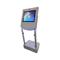 """1000Mbps 23.6"""" Ticket Dispensing Payment Machine EMV Manufactures"""