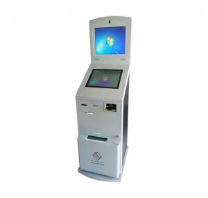 Telecom EMV PMS Self Service Payment Kiosk A4 Document Manufactures