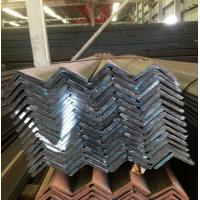 Black Hot Rolled Mild Steel Angle Bar AISI ASTM Q235 SS400 Standard Manufactures
