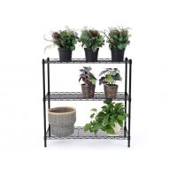 Space Saving Metal Kitchen Shelves Cold - Rolled Steel Material Height Adjustable Manufactures