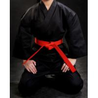 WKF approved different colour karate training uniform,karate kimono Twill Fabric black Karate Gi Uniforms for sales Manufactures