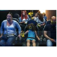 6D Film 6D Movie Theater With Leg Tickle , Vibration , Push Back Function Manufactures