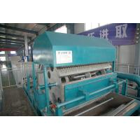 China Paper Pulp Egg Tray Making Machine , Paper Pulp Machine Producing Egg Box on sale