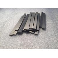Tungsten Carbide Bars / Strips For Metal Cutting With 45 Degree Angle Surface Manufactures