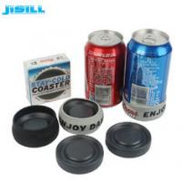 Portable Round Custom Gel Can Cooler Holder with Environment HDPE Materials Manufactures