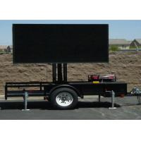 1/4 Scan SMD P10 Mobile Truck Led Display , Mobile Advertising Signs 2 Years Warranty