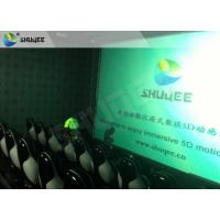 Surreal Vision 9D Movie Theater Electric Motion System Immersive Experience For Audiences Manufactures