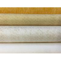 Heat Resisting Dust Filter Fabric , Customized Size Needle Punch Felt Manufactures