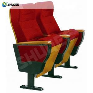 Commercial 3D Theater System Furniture Folded Cinema Chair Church Manufactures