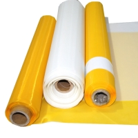 32t-100 dpp polyester filter mesh for screen printing and filtration silk screen mesh fabric 50 micron mesh filter Manufactures