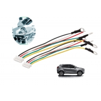 ISO PVC 5 Pins 20 AWG 150mm Electronic Wiring Harness Manufactures