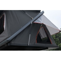 Camping Aluminum Hard Shell Z-Shaped Pop-up Roof Top Tent Safe Pop Up Tent Manufactures