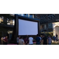 Outdoor Inflatable Movie Screen Removable Portable Air Projector Screen Manufactures