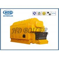 Gas Fired  Hot Water Steam Boiler / Industrial Water Tube Boiler Single Drum Manufactures
