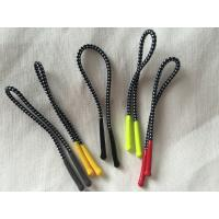 Colorful Silicon Rubber Zipper Puller With 2mm Polyester Elastic Cord Manufactures