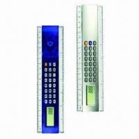 Calculators Ruler, Transparent Shell Available, Customized Logos are Accepted Manufactures