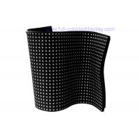 Buy cheap Low consumption Indoor soft / flexible led display screen small module P2.5/P3 from wholesalers