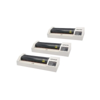 330mm Width Cold Hot Lamination Machine , 4 Rollers Roll Laminator With LED Display Manufactures