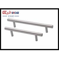 Plastic Kitchen Cabinet Drawer Pulls , D Handles Pull Knobs For Kitchen Cabinets Pearl Silver Manufactures