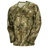 Hunting Camo Long Sleeve Camouflage T Shirt 100% Poly With Wicking Function Manufactures