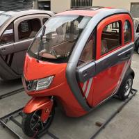 Brushless 60v 1200W Electric Tricycle Car Manufactures