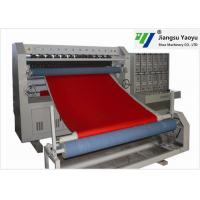 Buy cheap Seat Cushion Winter Jacket Ultrasonic Embossing Machine 50-1200m/H Speed from wholesalers
