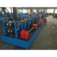 Hydraulic Standing Seam Roll Former , C Channel Roll Forming Machine For Steel Constructions Manufactures