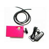 China Lightweight 12 Volt DC 3 Colors Airbrush Mini Air Compressor for Makeup , Cosmetics , Tattoo on sale