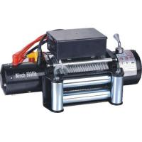 Most popular powerful 12V 8000 lbs electric winch for off road for Jeep Wrangler Manufactures