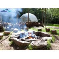 Buy cheap Amusement Park Geodesic Dome Tent For Glamping Wind Loading 100km / Hour from wholesalers