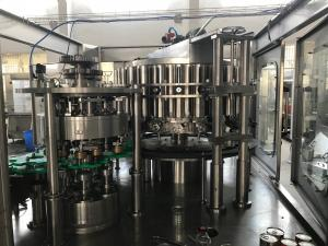 216 Can/Minute 900kg Beverage Can Filling Machine Manufactures