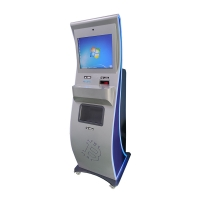PCI Bluetooth4.0 Self Service Bank Kiosk With Cash Acceptor Manufactures