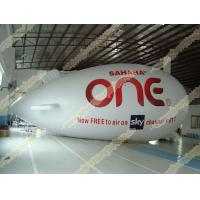 Inflatable advertising helium zeppelin with UV Protected Printing 0.18mm PVC for opening event, outdoor advertising Manufactures