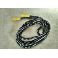 Handmade Shiny Silicone Ending Rubber Zipper Puller With 3mm Polyester String Manufactures