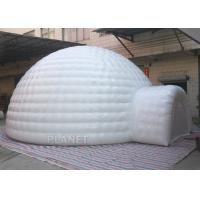 Giant Inflatable Igloo Tent , White 3.5 M Height Inflatable Outdoor Tent Manufactures