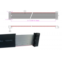 Low Frequency 10 Pin 1.27P Flat Flex Ribbon Cable Manufactures