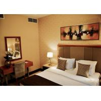 Commercial Hotel Furniture Solid Wood Plywood Fabric Foam Material Manufactures