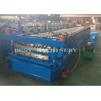 Buy cheap YX-686 762 Double Layer Deck Profile Roof Roll Forming Machine 8-12m/Min Speed from wholesalers